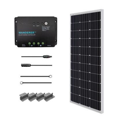 Renogy 100 Watt 12 Volt Solar Starter Kit