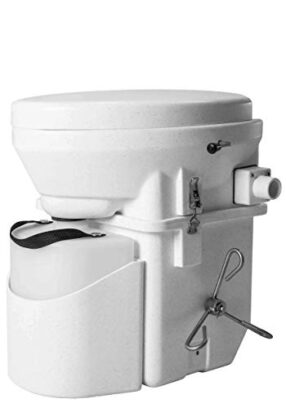 Nature's Head Composting Toilet with Foot-Spider Handle