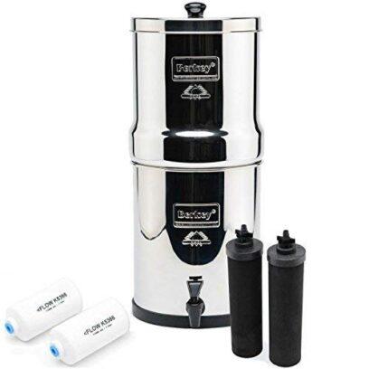 Big Berkey Countertop Water Filter System