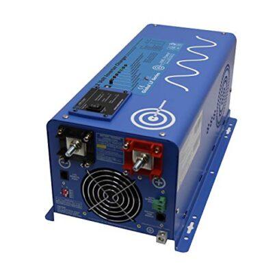 AIMS Power 3000 Watt Pure Sine Inverter Charger Backup Power