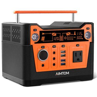 AIMTOM 300-Watt Portable Power Station