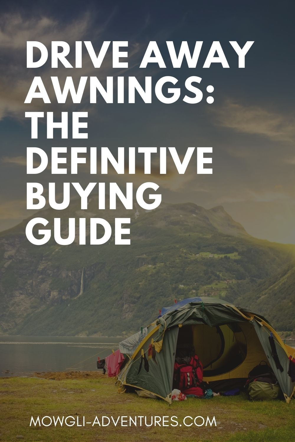 The Best Drive Away Awnings for Campervans, Motorhomes & Car Camping on pinterest