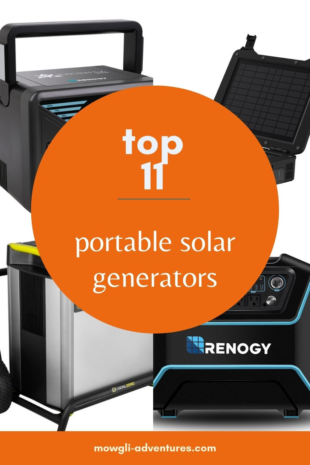 The best portable solar generators for camping on pinterest