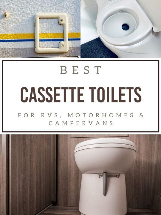 cassette toilet for rv and campervans on pinterest