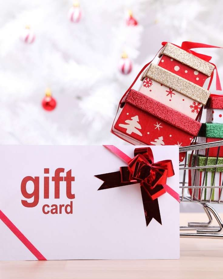 gifts for rv owners gift card