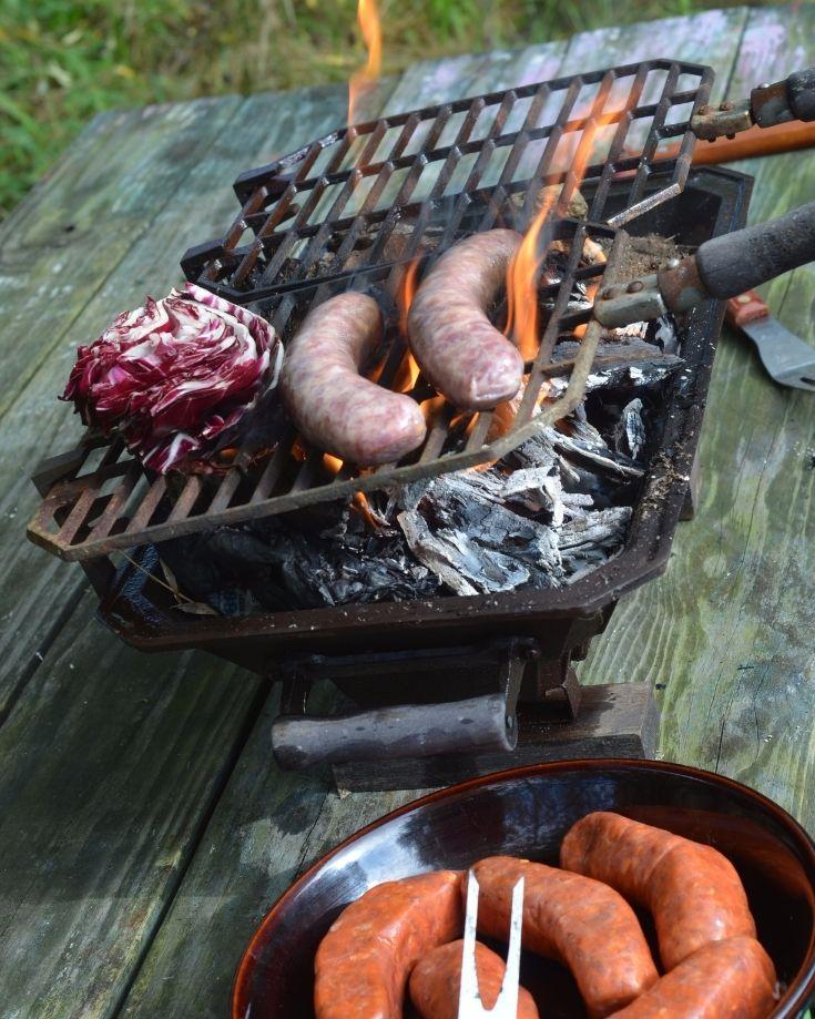 tabletop RV grill