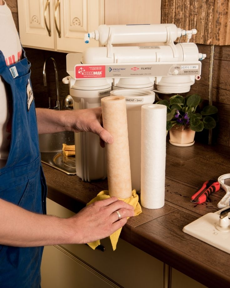 installing an rv water filters