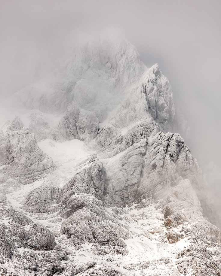 snow capped peaks around futaleufu