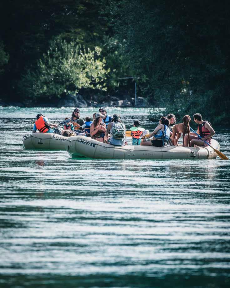 rafting experiences on espolon river