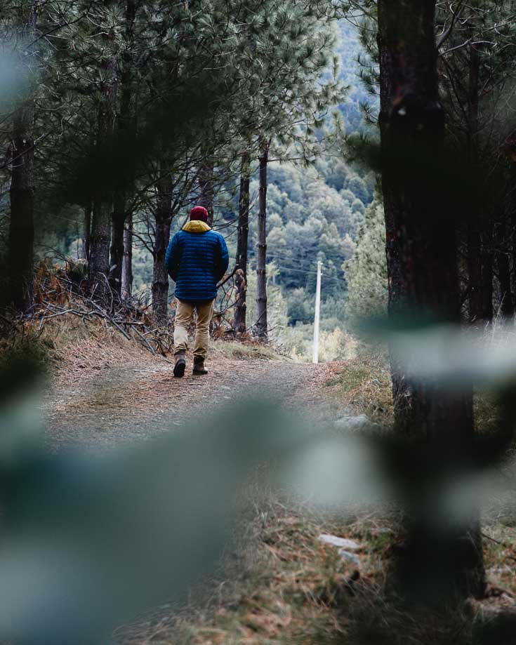 hiking in futaleufu national reserve