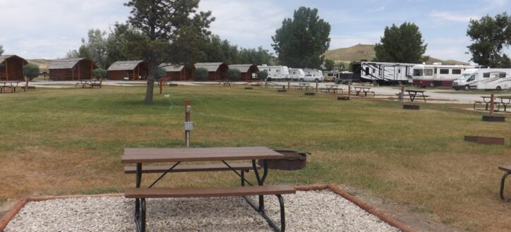 Cody Koa Campground, Wyoming