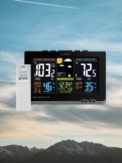 Best Weather Stations for Traveling in RV