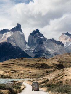 Driving in Patagonia