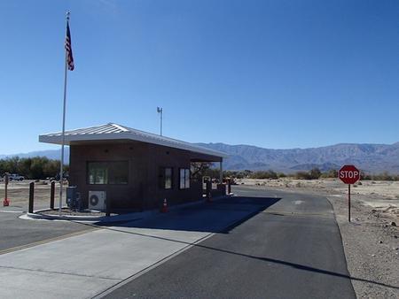Furnace Creek Campground Entrance