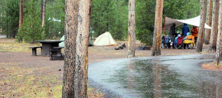 Madison Campground, Wyoming