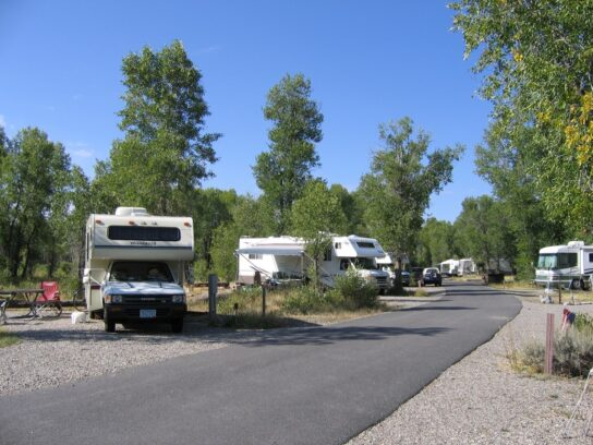 Gros Ventre Campground, Wyoming