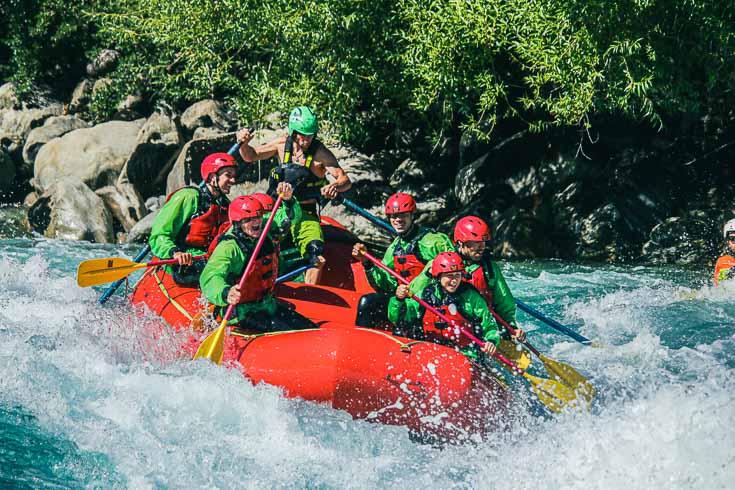whitewater rafting on the futaleufu river