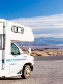 van in death valley