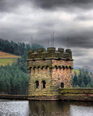 Derwent reservoir walk in The Peak District, Derbyshire