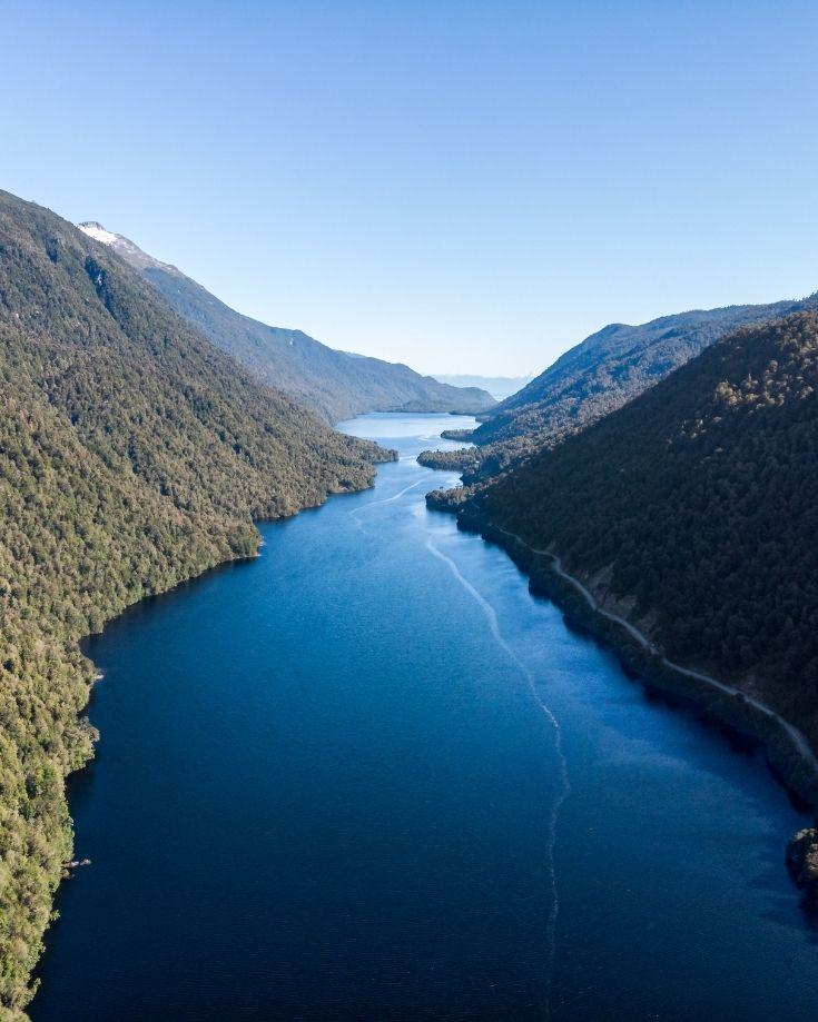 Risopatron Lake in Queulat National Park