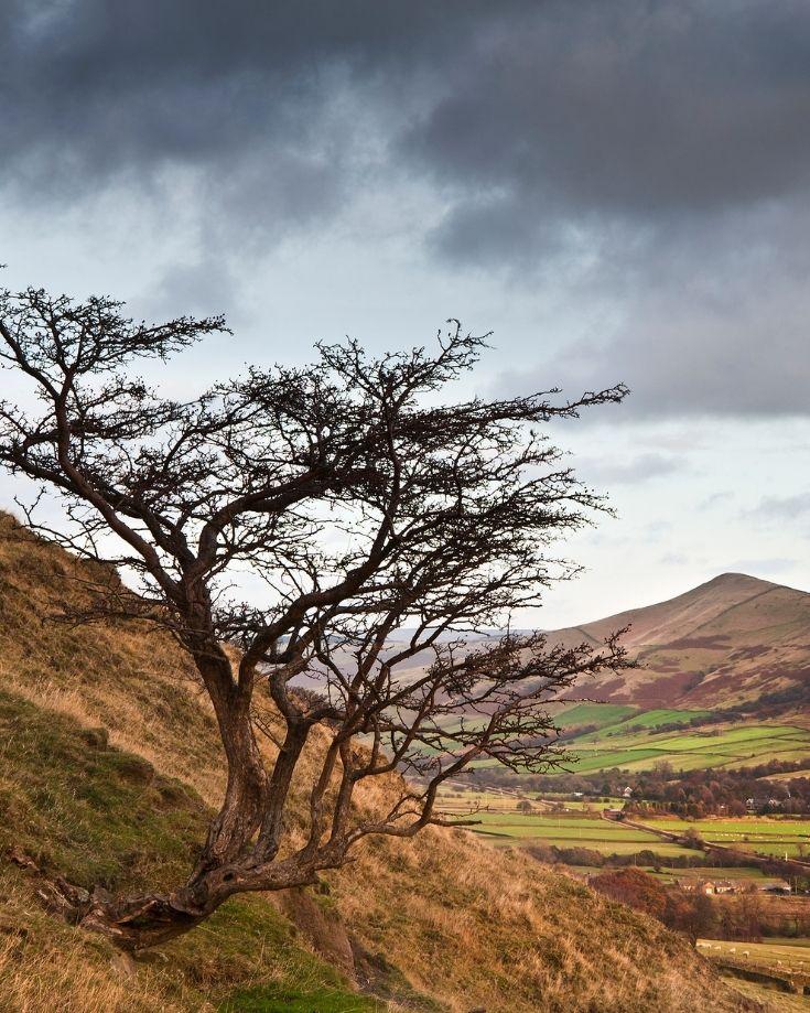 Peak District landscape views