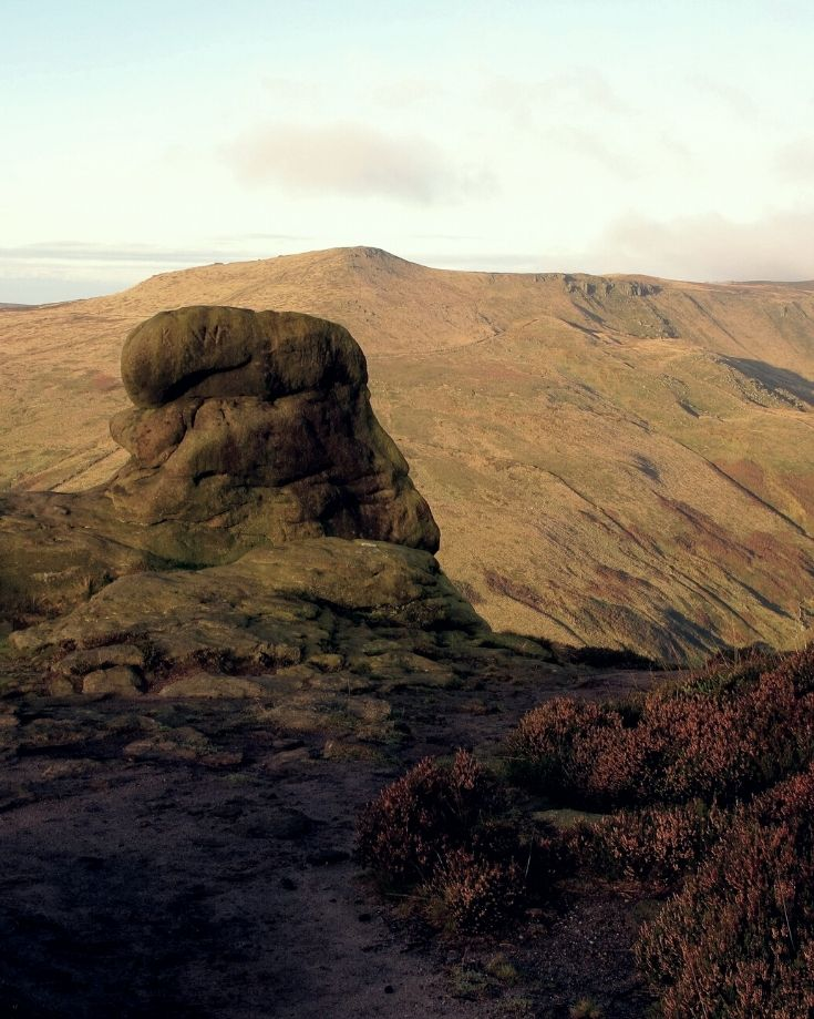 Landscape views from Kinder Scout