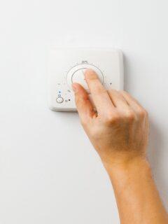 turning thermostat