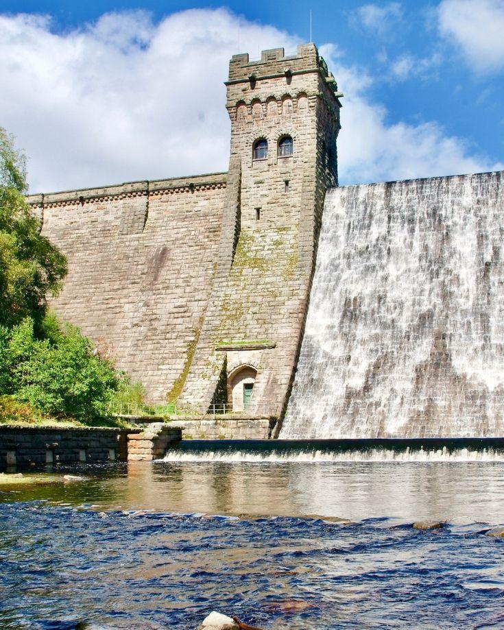 West tower at Derwent Reservoir