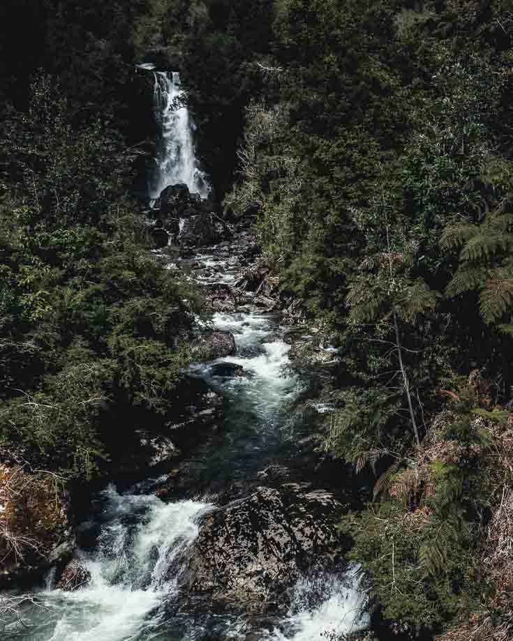 Waterfalls in Queulat National Park