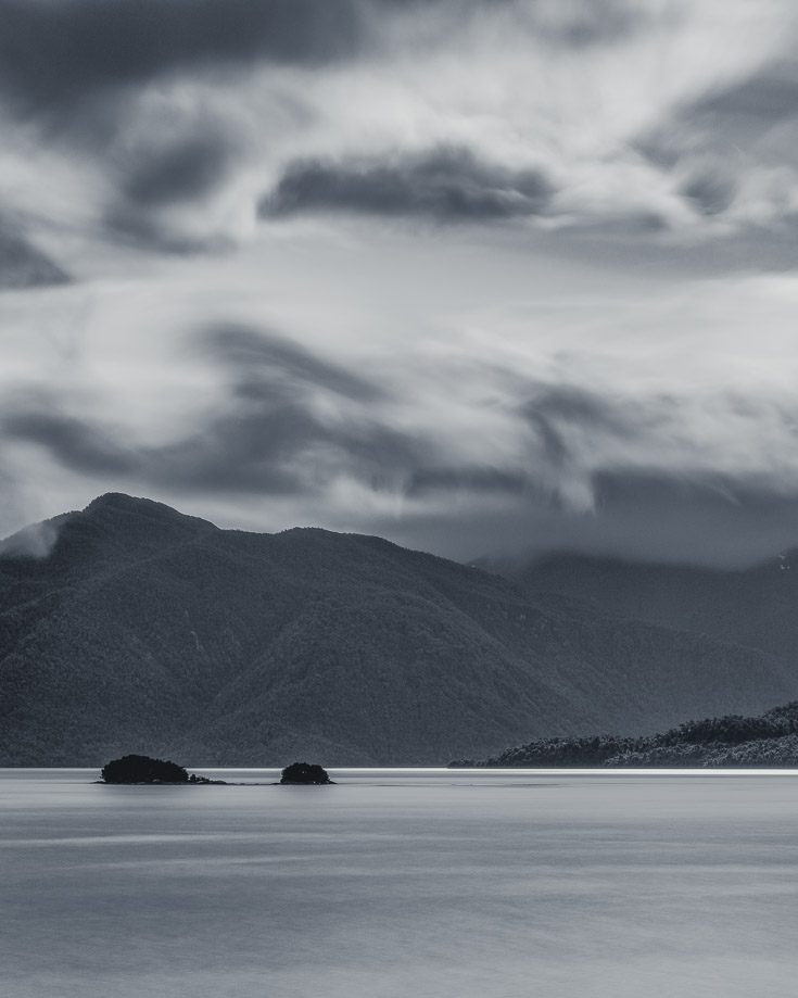 Views over the Puyuhuapi fjord