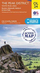 The Peak District: White Peak Area Map OL24 Weatherproof