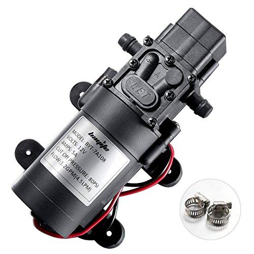 Bayite BYT-7A108 12v DC Fresh Adjustable Self-Priming Water Pump