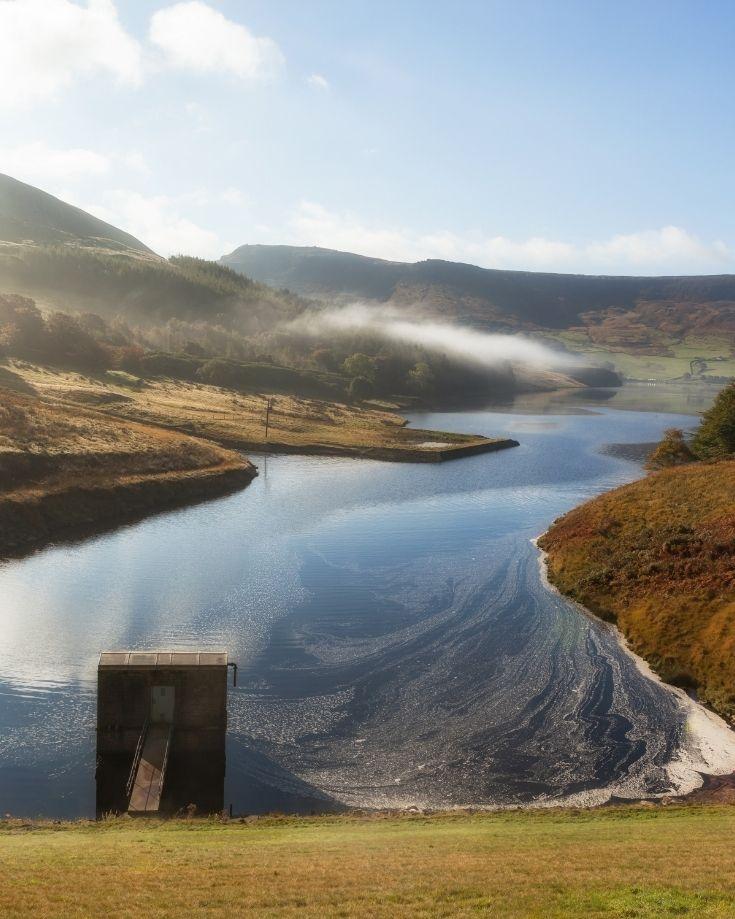 Dovestone Reservoir near Birchen Clough