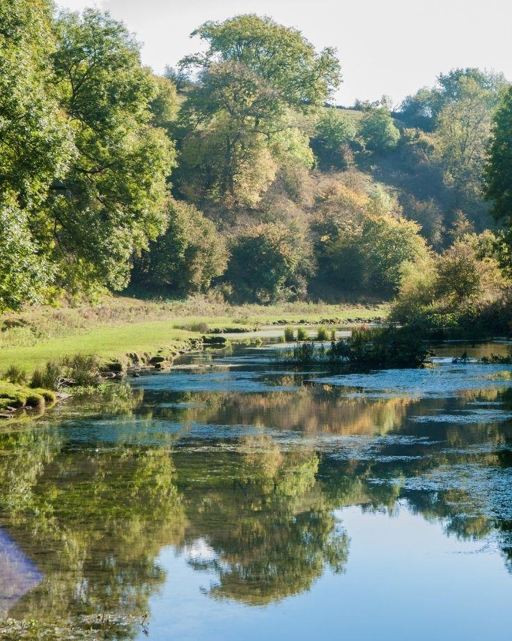 sunny days near River Lathkill, Derbyshire