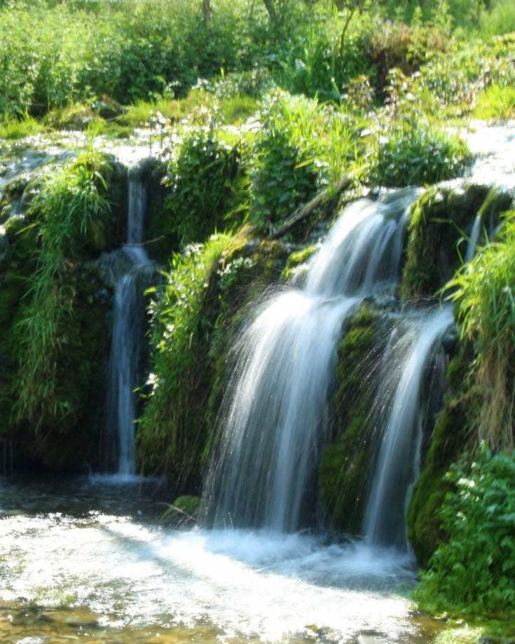 Waterfall at Lathkill Dale