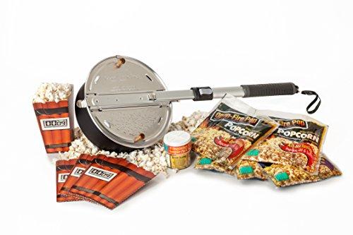 Open Fire Popcorn Gift Set