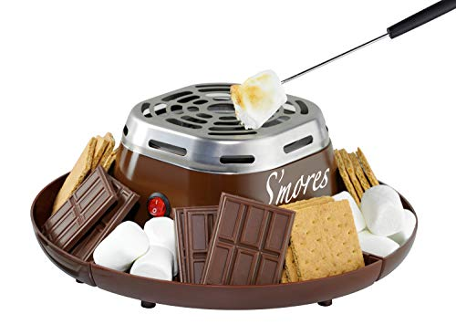Electric and Stainless Steel S'mores Maker