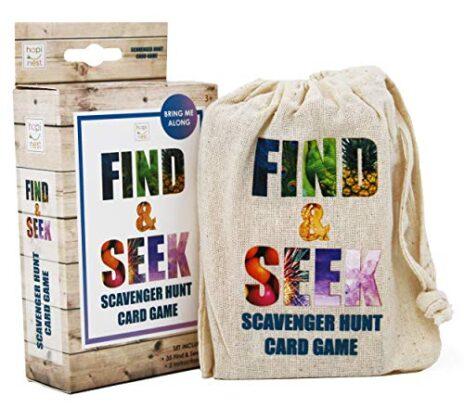 Find and Seek Scavenger Hunt Card Game
