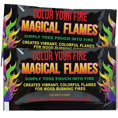 Magical Flames Color-Changing Powder for Fire Pits